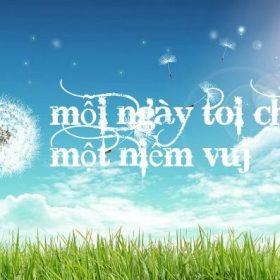 bí quyết sống vui vẻ mỗi ngày